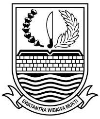 logo kabupaten bekasi hitam putih